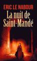 Couverture La Nuit de Saint-Mandé Editions France Loisirs 2019