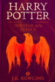 Couverture Harry Potter, tome 5 : Harry Potter et l'ordre du phénix Editions Pottermore Limited 2015