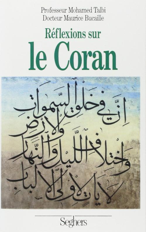 Couverture Réflexions sur le Coran