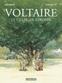 Couverture Voltaire, le culte de l'ironie Editions Casterman 2019