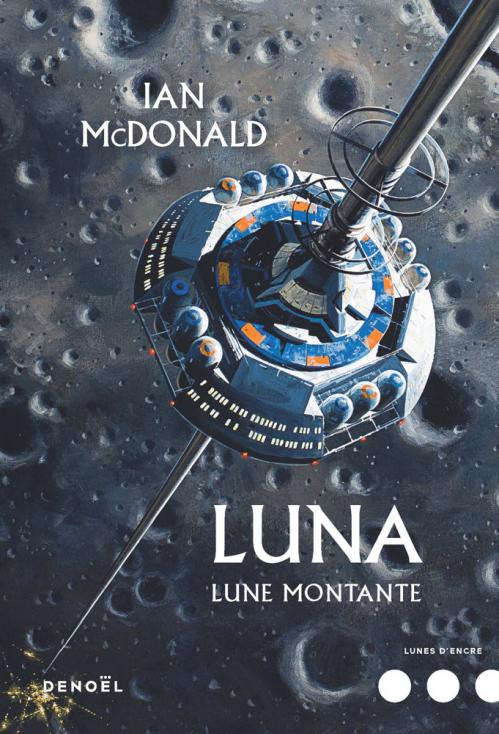 Couverture Luna, tome 3 : Lune montante