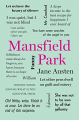 Couverture Mansfield park Editions Thunder Bay Press (Word Cloud Classics) 2017