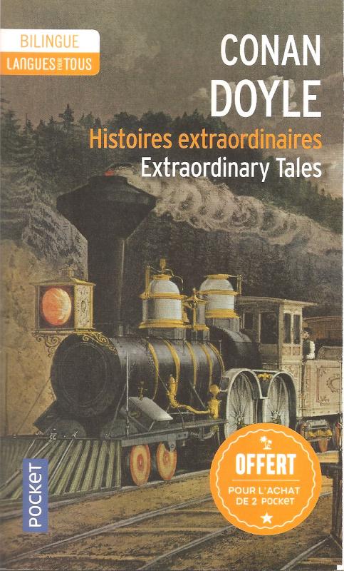 Couverture Histoires extraordinaires