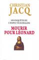 Couverture Les enquêtes de l'inspecteur Higgins, tome 08 : Mourir pour Léonard Editions Le Grand Livre du Mois (Le Club) 2013