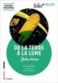 Couverture Voyage lunaire, tome 1 : De la Terre à la lune Editions Folio  (+ Collège) 2018
