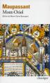 Couverture Mont-Oriol Editions Folio  (Classique) 2016