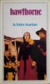 Couverture La lettre écarlate Editions Garnier Flammarion 1982