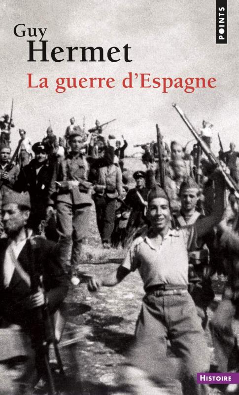 Couverture La guerre d'Espagne