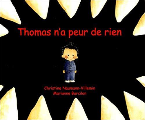 Couverture Thomas n'a peur de rien