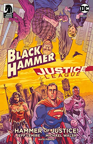 Couverture Black Hammer/Justice League: Hammer of Justice!, book 1
