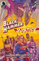 Couverture Black Hammer/Justice League: Hammer of Justice!, book 1 Editions Dark Horse 2019