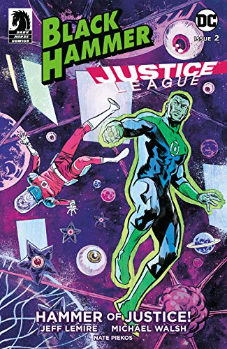 Couverture Black Hammer/Justice League: Hammer of Justice!, book 2
