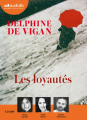 Couverture Les loyautés Editions Audiolib 2018
