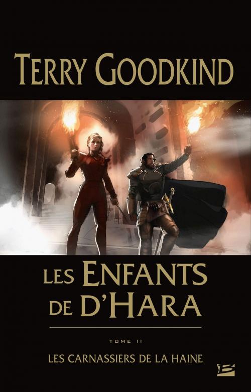 Couverture Les Enfants de D'Hara, tome 2 : Les Carnassiers de la Haine
