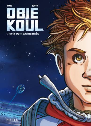 Couverture Obie Koul, tome 1 : Un week-end sur deux chez mon père