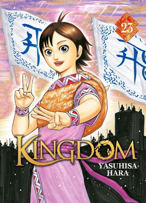 Couverture Kingdom, tome 23