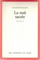 Couverture La nuit sacrée Editions Seuil 1987