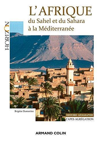 Couverture L'Afrique du Sahel et du Sahara à la Méditerranée