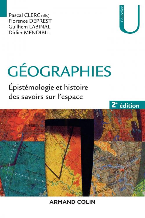 Couverture Géographies : Épistémologie et Histoire des Savoirs sur l'Espace