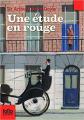 Couverture Une étude en rouge / Étude en rouge Editions Gallimard  (Jeunesse) 2010