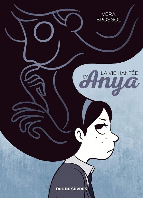 Couverture Le fantôme d'Anya / La vie hantée d'Anya