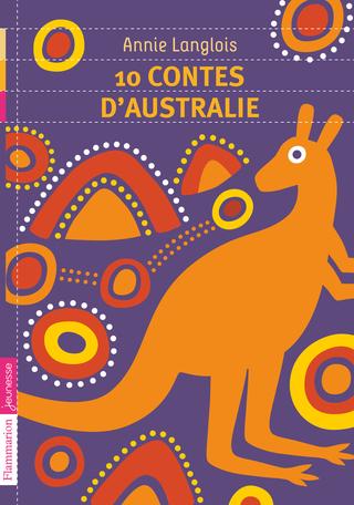 Couverture 10 contes d'Australie