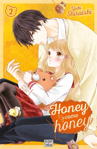 Couverture Honey come honey, tome 02