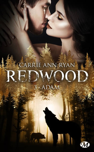 Couverture Redwood, tome 3 : Adam