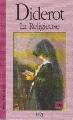Couverture La Religieuse Editions Eddl 1997