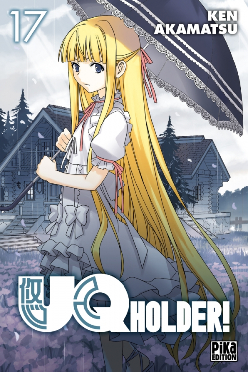 Couverture UQ Holder !, tome 17
