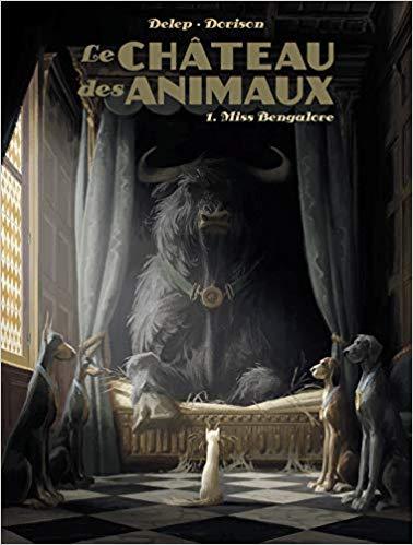 Couverture Le Château des animaux, tome 1 : Miss Bengalore