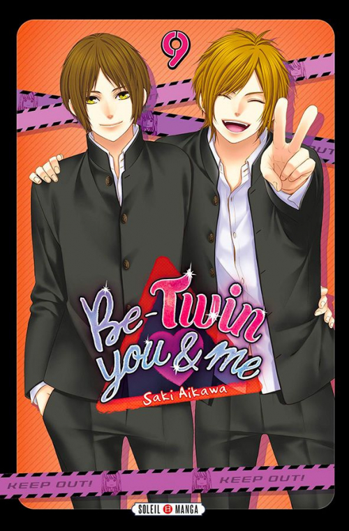 Couverture Be-twin you & me, tome 09