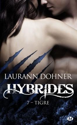 Couverture Hybrides, tome 7 : Tigre