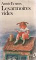 Couverture Les armoires vides Editions Folio  1985