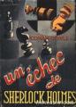 Couverture Un échec de Sherlock Holmes Editions André Martel 1948
