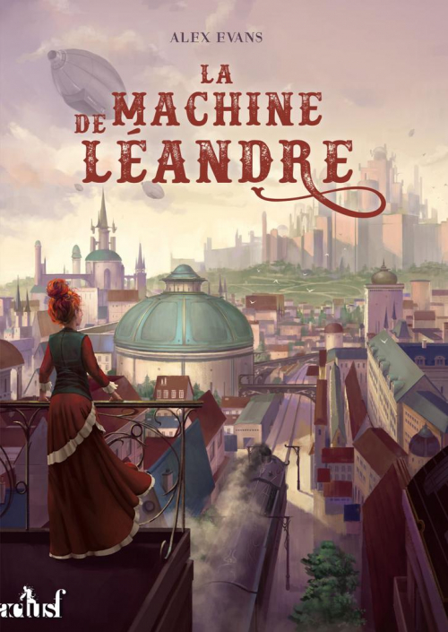 Couverture La machine de Léandre