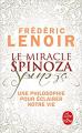 Couverture Le miracle Spinoza Editions Le Livre de Poche 2019