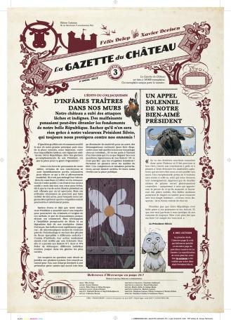 Couverture La Gazette du Château, tome 3