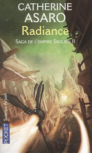 Couverture Saga de l'empire Skolien, tome 2 : Radiance