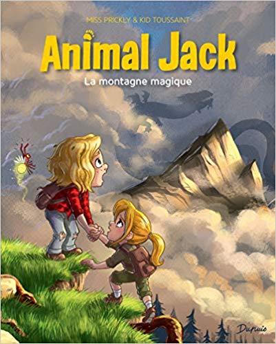 Couverture Animal Jack, tome 2 : La montagne magique