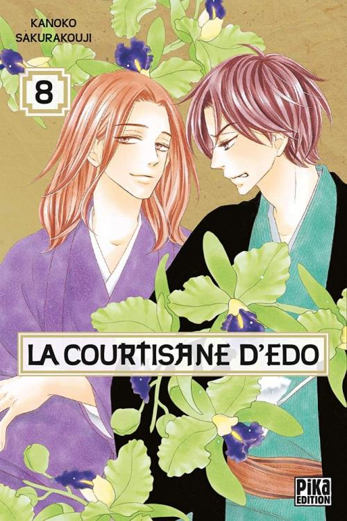 Couverture La courtisane d'Edo, tome 08