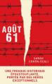 Couverture Août 61 Editions Albin Michel 2019