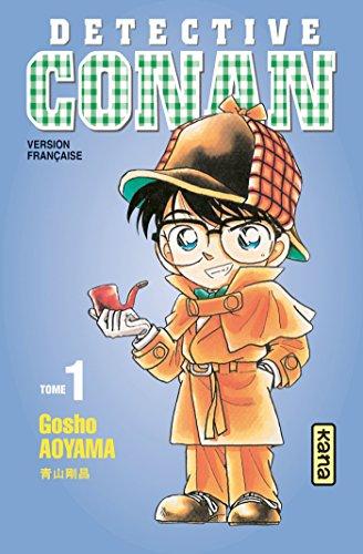Couverture Détective Conan, tome 01