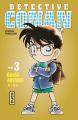 Couverture Détective Conan, tome 003 Editions Kana (Shônen) 2013