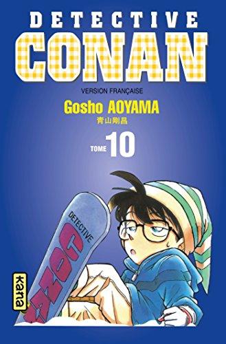 Couverture Détective Conan, tome 10