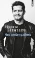 Couverture Mes prolongations Editions Points 2019