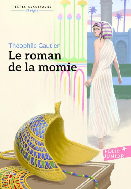 Couverture Le roman de la momie, abrégé