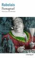 Couverture Pantagruel Editions Folio  (Classique) 2019