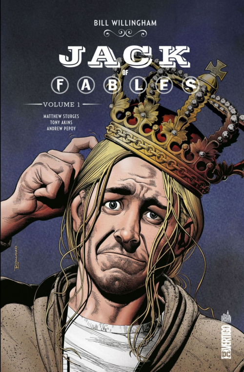 Couverture Jack of Fables, intégrale, tome 1