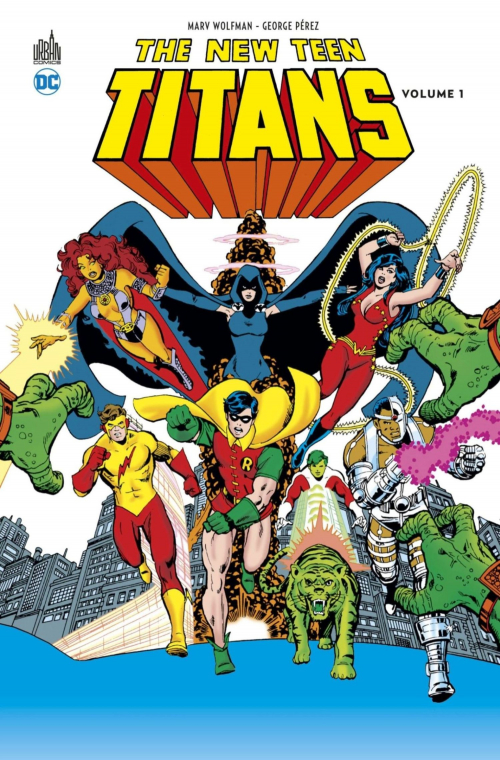 Couverture The New Teen Titans, tome 1
